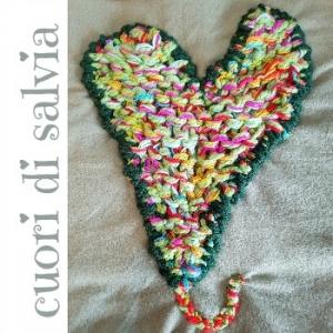 cuori di salvia hand-knit