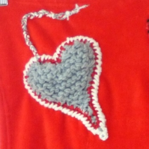 custom blanket fleece grey heart