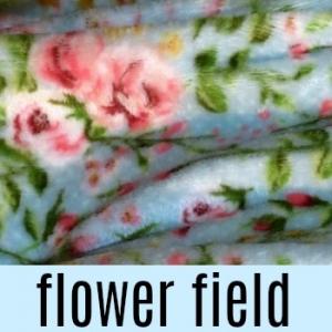 Fleece deluxe field of flowers VANCOUVER