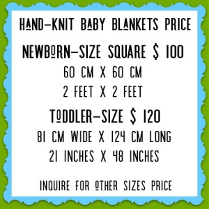 HAND-KNIT BLANKETS