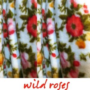 deluxe fleece wild roses vancouver