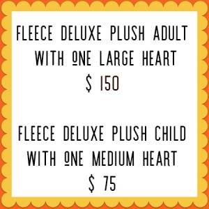 custom fleece deluxe